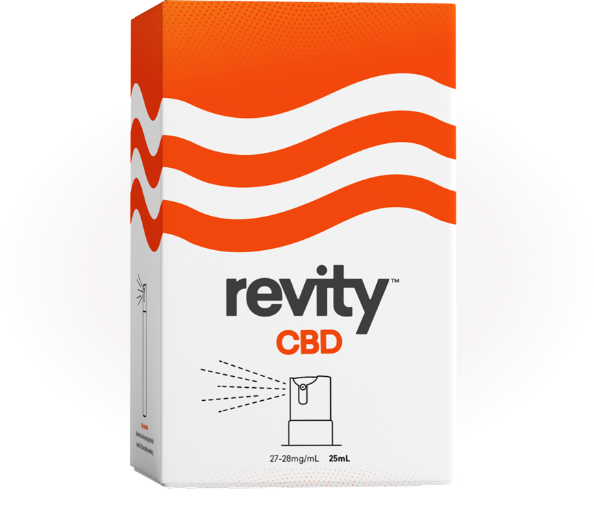 Revity CBD Spray product image