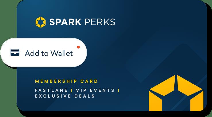 SPARK Perks card